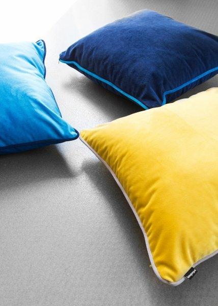 DUO żółta poduszka dekoracyjna 40x40