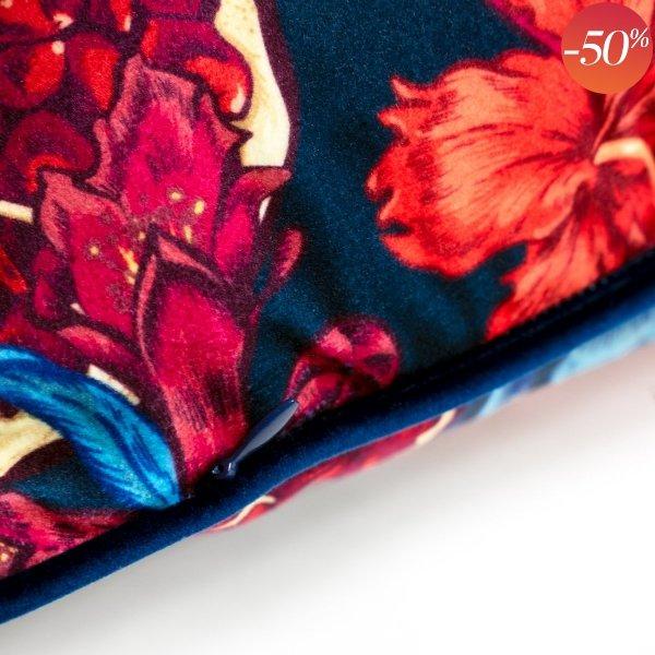 Poduszka dekoracyjna Grenada niebieska 45x45