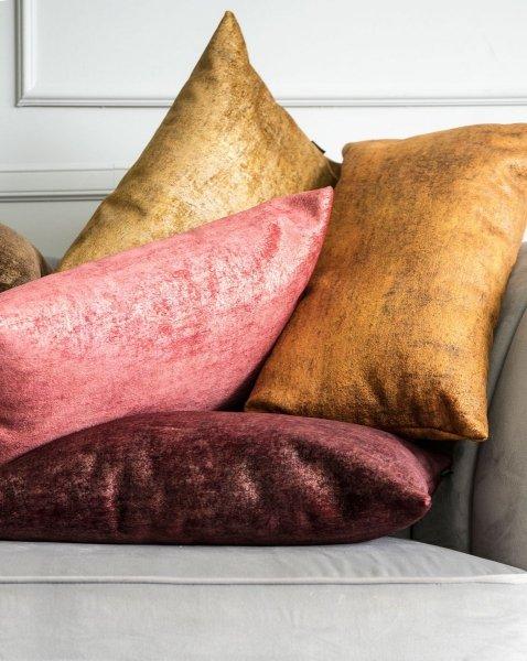 Stone bordowa poduszka dekoracyjna 50x30