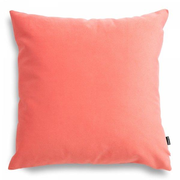 Pram koralowa poduszka dekoracyjna 45x45