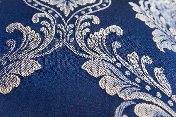 Granatowa poduszka dekoracyjna Queen 45x45