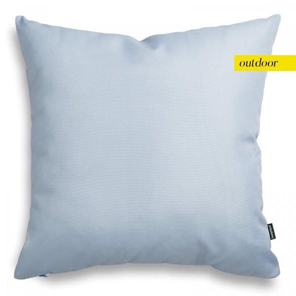 Błękitna poduszka ogrodowa