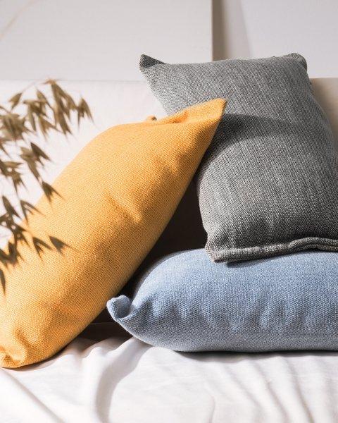 Fitto poduszka dekoracyjna 50x30 cm. szara