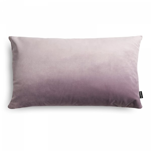 Velvet jasno fioletowa poduszka dekoracyjna 50x30