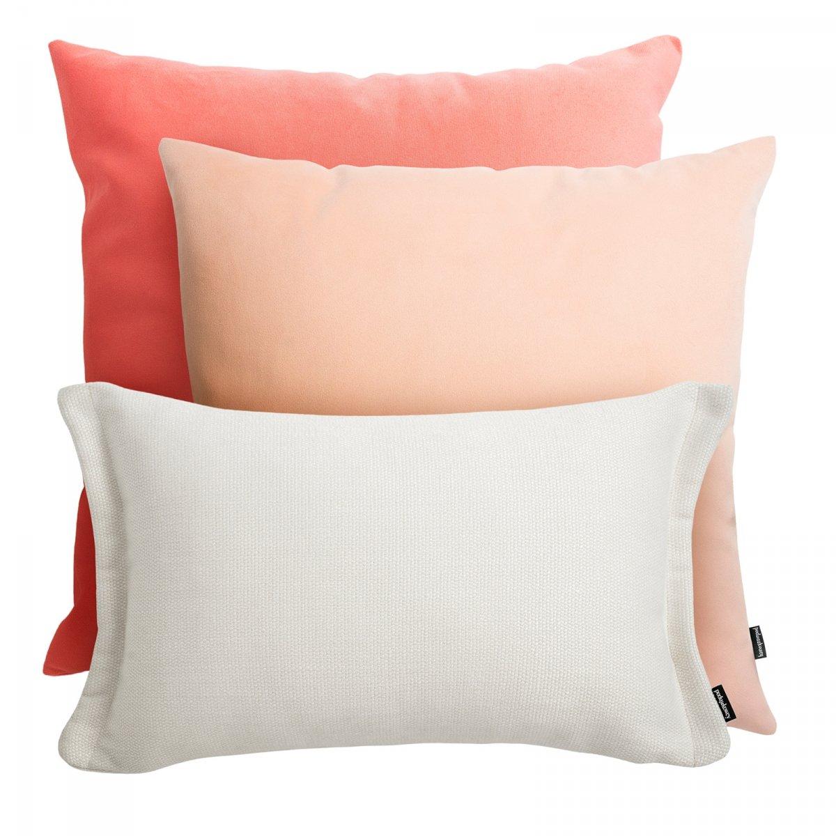 Różowy zestaw poduszek Pram + Fitto