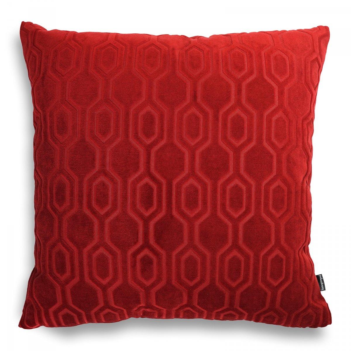 Honey czerwona poduszka dekoracyjna 50x50