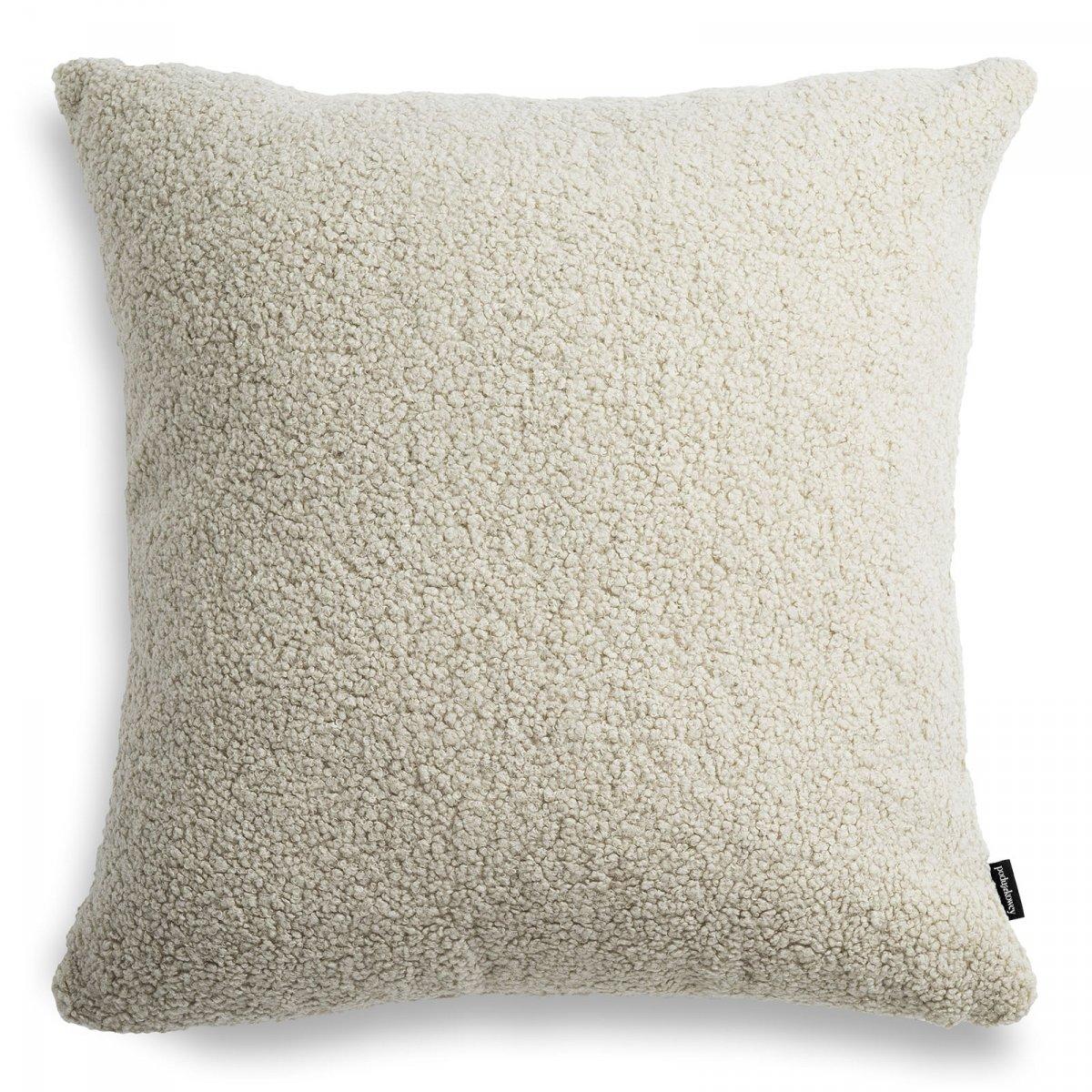 Cozy duża beżowa poduszka dekoracyjna 50x50