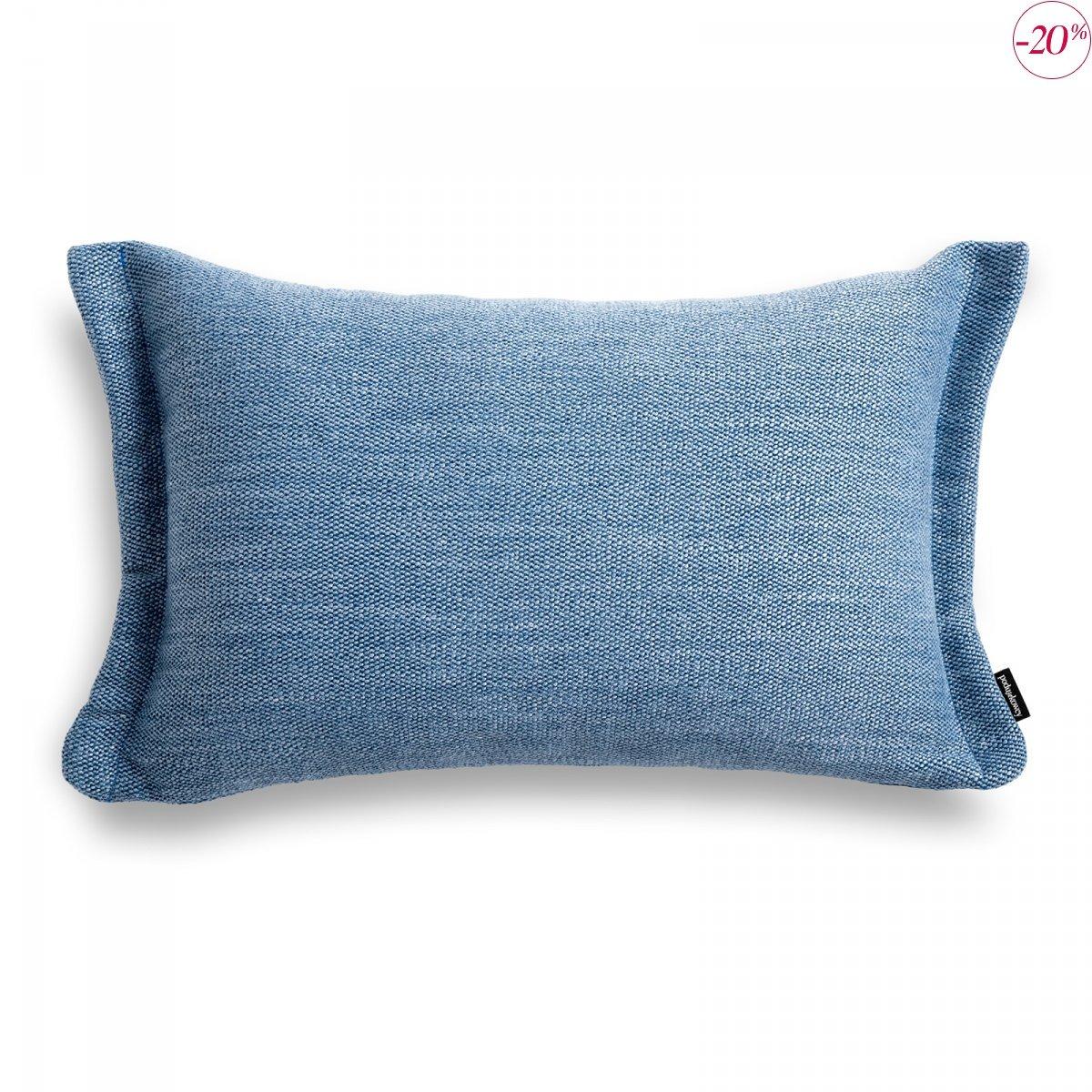 Fitto poduszka dekoracyjna 50x30 cm. błękitna