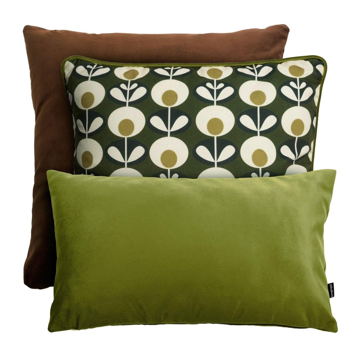 Zestaw poduszek dekoracyjnych Retro