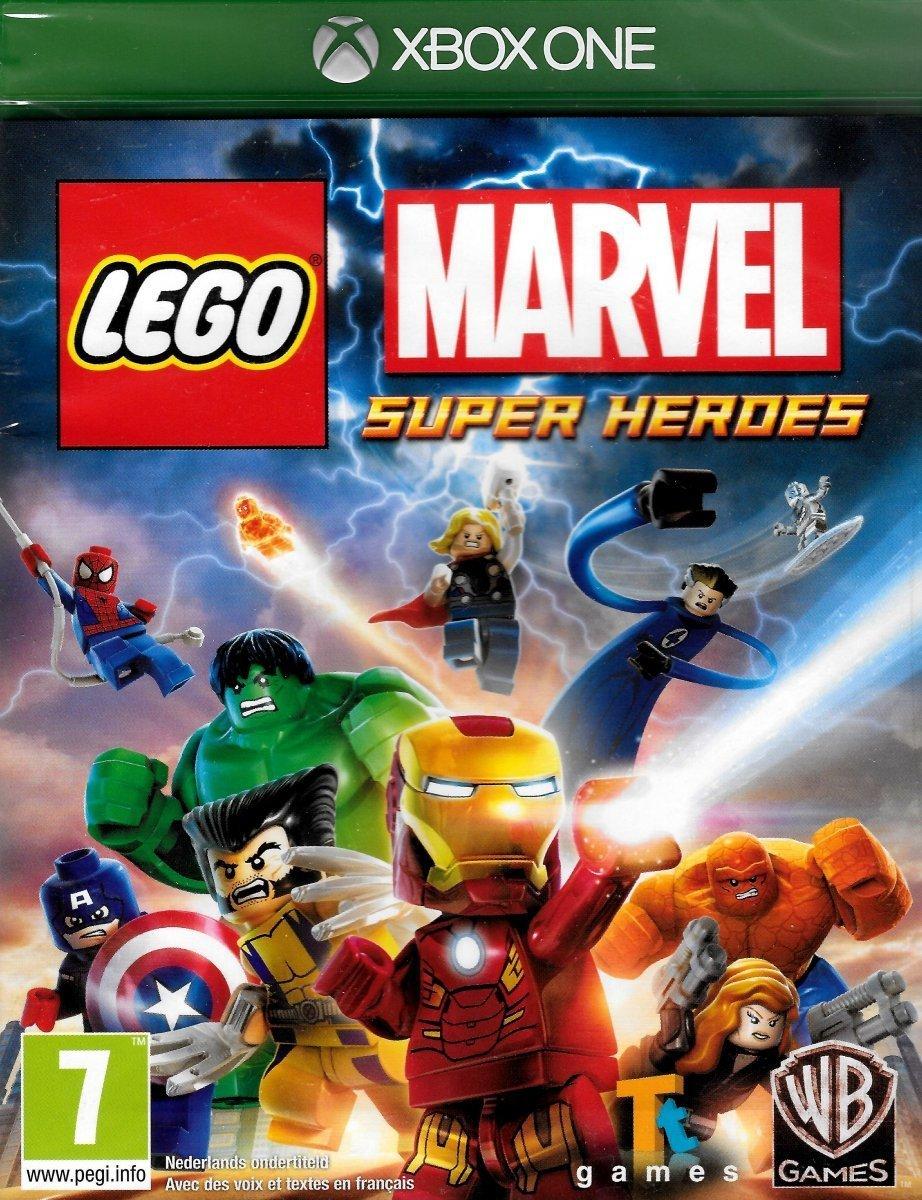 696146e0a LEGO MARVEL SUPER HEROES XBOX ONE | Aleja-Gier