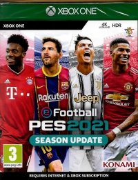 E FOOTBALL PES 2021 SEASON UPDATE XBOX ONE