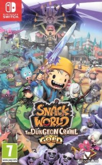 SNACK WORLD THE DUNGEON CRAWL GOLD NINTENDO SWITCH