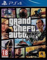 GTA V GRAND THEFT AUTO V 5 PL PS4