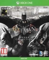 BATMAN ARKHAM COLLECTION STEELBOOK XBOX ONE PL