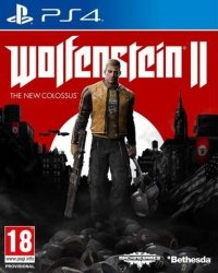 WOLFENSTEIN II  THE NEW COLOSSUS PS4 PL