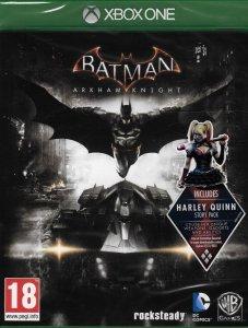 BATMAN ARKHAM KNIGHT + DLC XBOX ONE PL