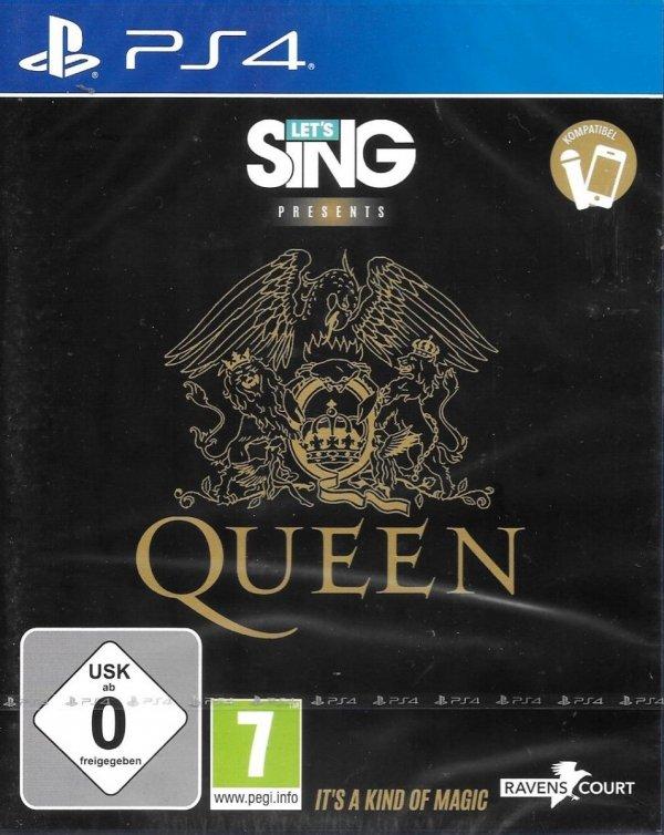 LET'S SING  Presents QUEEN  PS4 PL
