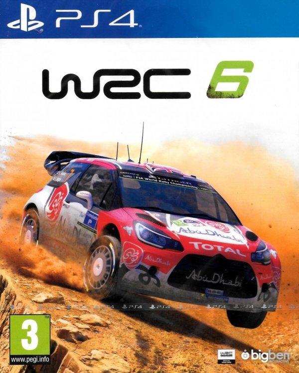 WRC 6 PS4 PL