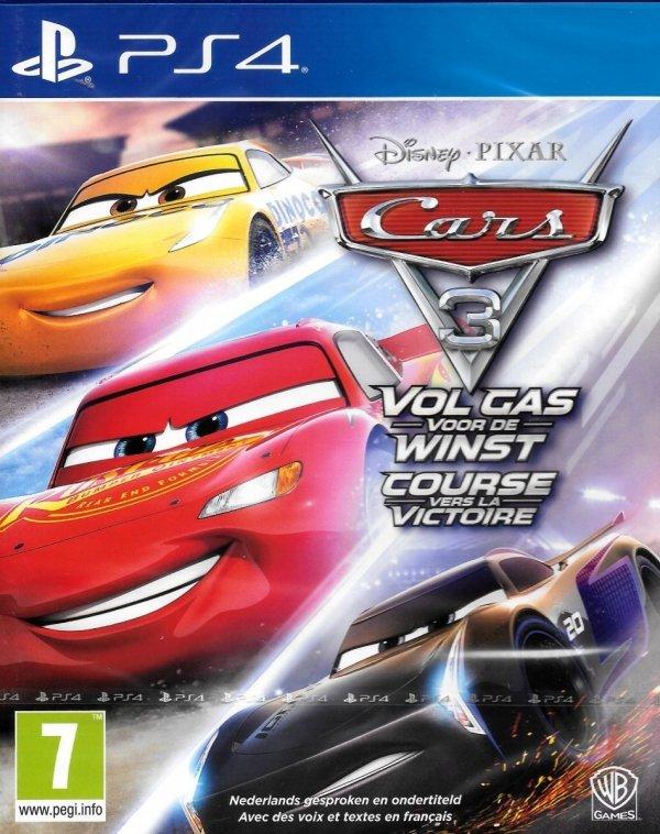 CARS 3 AUTA 3  WYSOKIE OBROTY PS4 PL