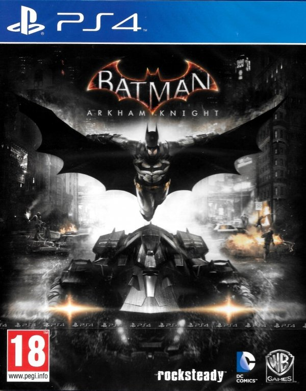 BATMAN ARKHAM KNIGHT PS4 PL
