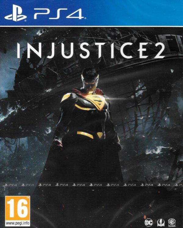 INJUSTICE 2 PS4 PL PRODUKT NOWY, FOLIA ZASTĘPCZA