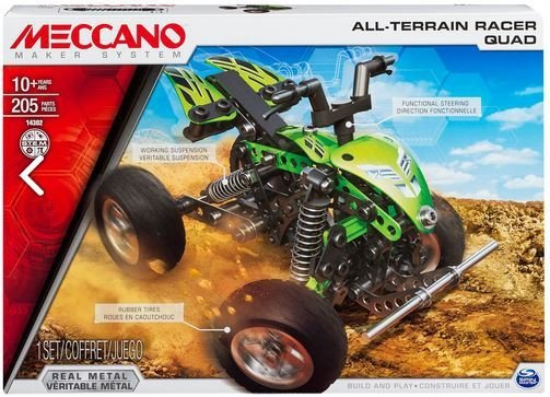 MECCANO 14302 ALL-TERRAIN RACER QUAD 2W1