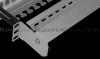 Patch Panel modularny wysuwany z półką 1U na 24 moduły keystone, niewyposażony, czarny