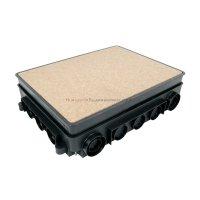 KOPOS puszka podłogowa do betonu KUP80 do ramki KOPOBOX 80