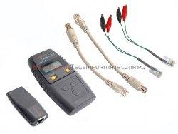 Tester kabli 6106 LAN/TEL z ekranem LCD