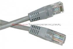 UTP Patch cord 0,25 m. Kat.5e szary