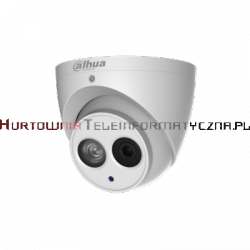 DAHUA kamera kopułka, IP, 4MP, FullHD, IR50m, 3,6mm, WDR120dB