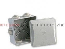 Puszka elektr. hermetyczna natynkowa 80x80mm IP44 ( zatrzaskowa) OLAN20003