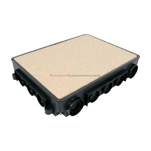 KOPOS puszka podłogowa do betonu KUP57 do ramki KOPOBOX 57
