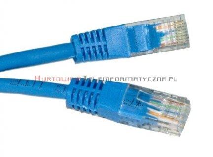 UTP Patch cord 5,0 m. Kat.6 niebieski