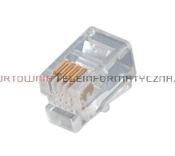 Wtyk RJ09 mikrowtyczna 4p4c