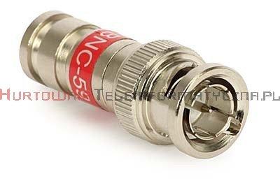Wtyk kompresyjny BNC na kabel RG-59