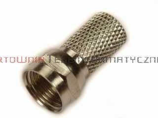 Wtyk typu F nakręcany 6,8 mm – gwintowany