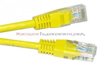 UTP Patch cord 3,0 m. Kat.6 żółty