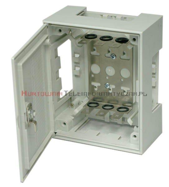 COBINET box / skrzynka rozdzielcza LSA 30 parowa zamykana typ KRONE, z ryglem