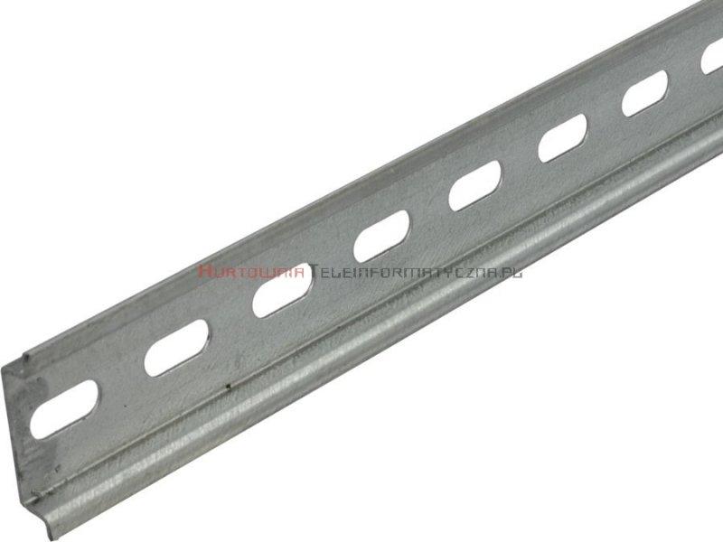 Szyna montażowa DIN TH35, perforowana, 1.0m