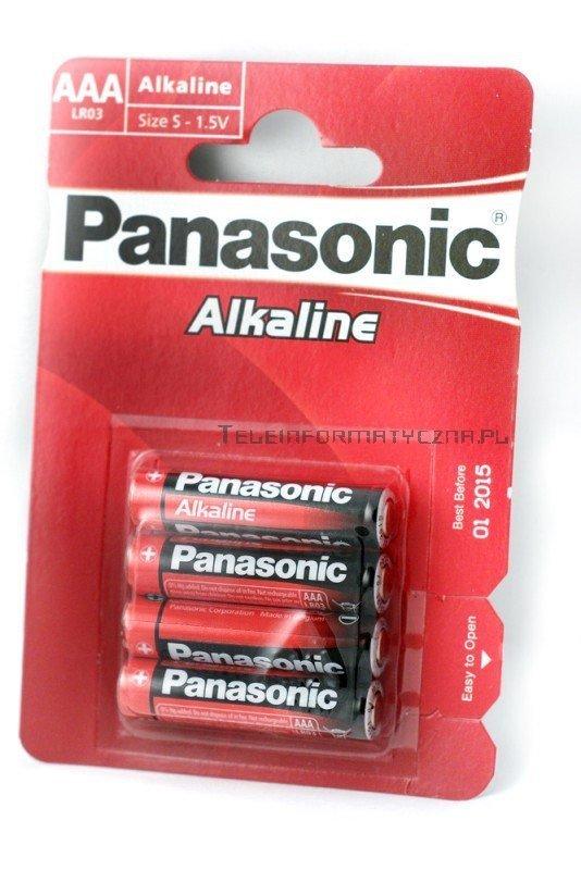 Panasonic Baterie alkaliczna 1,5V AA LR6