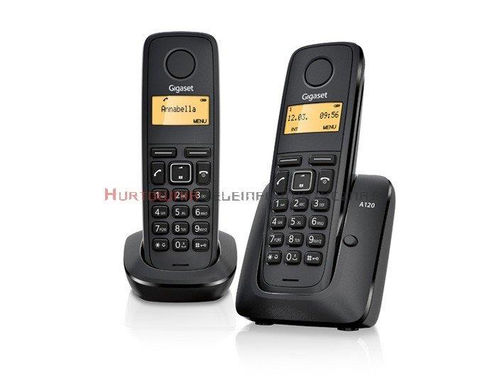 Telefon bezprzewodowy Siemens Gigaset A120 Duo