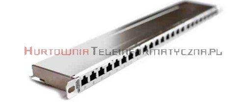 FIBRAIN DATA Express FTP Patch Panel 0,5U 24 ports RJ45 Kat.5e+ z półką