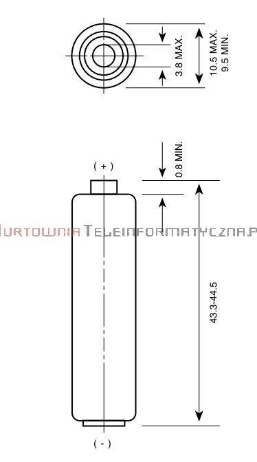 GP SUPER Bateria alkaliczna 1,5V AAA LR03