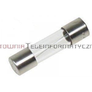 Bezpiecznik rurkowy topikowy szklany 20mm 1,25A
