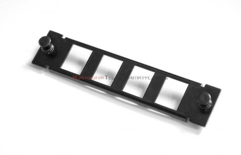 LogiWire Moduł niewyposażony 4 x keyston