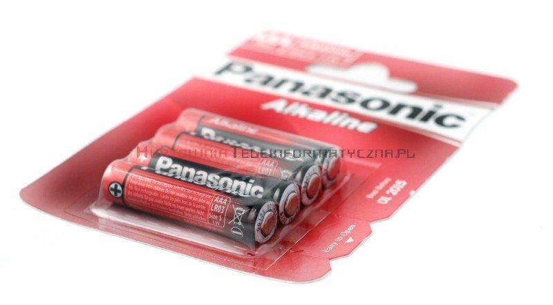 Panasonic Baterie alkaliczna 1,5V AAA LR03