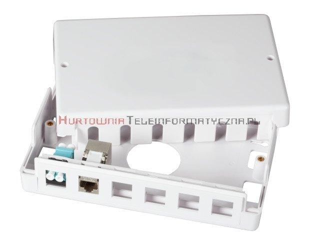 EFB Box dystrybucyjny puszka/gniazdo, natynkowy na 6/12 x keystone