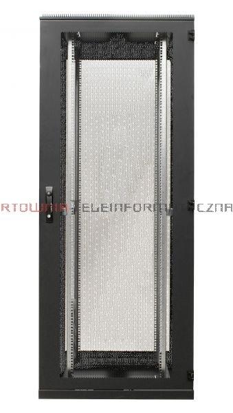 BKT Serwerowa szafa ramowa stojąca TOP II 42U, 600/1000/1980, szer./gł./wys. mm. drzwi perforowane, RAL 7035 ( konstrukcja spawana - nośność 1000 kg )