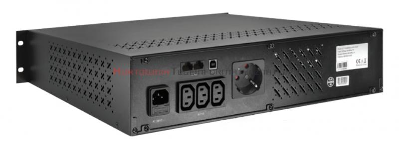 """GT UPS PowerBox 850VA/510W RACK 19"""""""